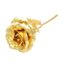 OXGIFT Wholesale 24k golden rose flower valentine day <strong>gifts</strong> for girlfriend