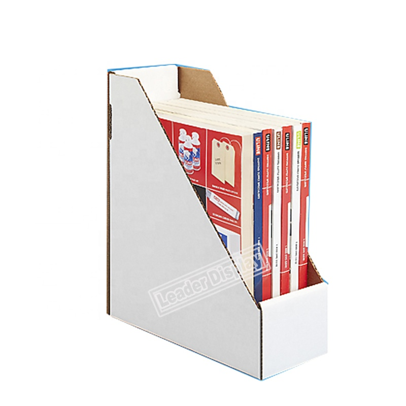 Made in China Merchandise Custom Cardboard Counter Top Display Book Boxes Units
