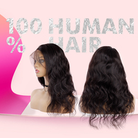 Brazilian cuticle aligned hd human lace wig bob wigs water wave 100 human hair full lace wigs for black women