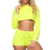 Latest Design Plus Size Lady Sportswear Outfit Long Sleeve Two Piece Set Women Clothing Set