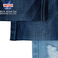 100% Cotton Denim Fabric 11 oz for Jacket Dress and Jeans in Autumn and Winter