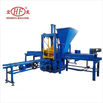 Automatic cement brick making manufacturing machine list scale industries production line