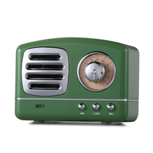 Vintage Small Multimedia Mini Retro Speaker <strong>Bluetooth</strong> with Fm Radio
