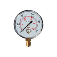 Stainless Steel Body 2.8kpa LPG Gas Pressure Gauge Regulator