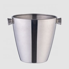 Factory Direct 3L customized large stainless steel metal buckets with handle
