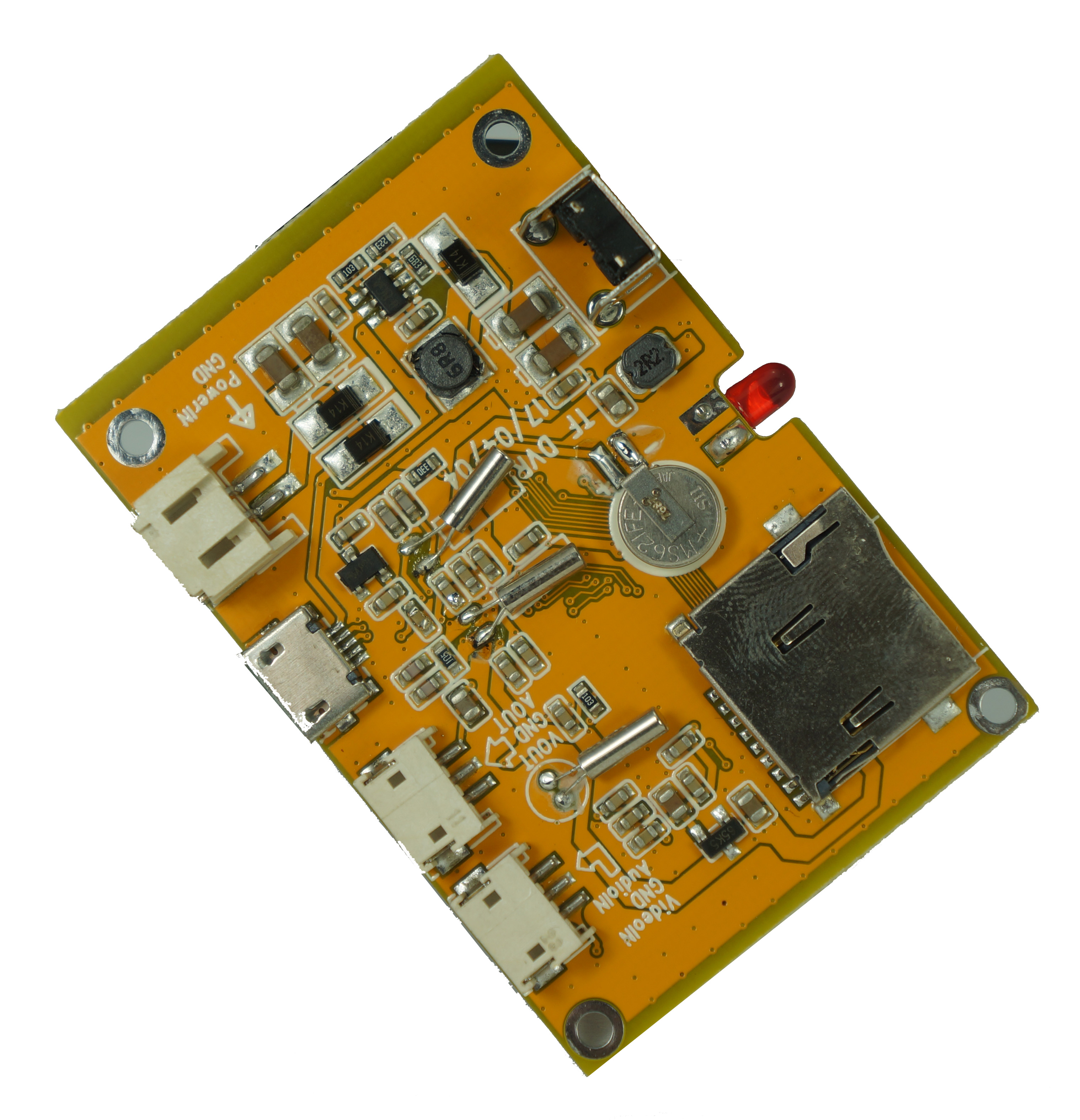 <strong>DVR</strong> mobile FPV 1CH SD <strong>DVR</strong> module BD-300FP Support HD analog camera