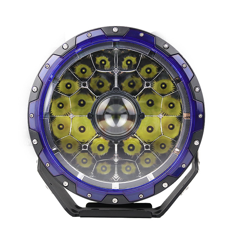 Aurora 2020 New Round 9&quot;inch 132w Spot 12V DRL 4X4 Offroad Car Led Laser Work <strong>Light</strong> 12 V 9 Inch Off road Car Laser Driving <strong>Light</strong>