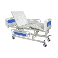 3 crank manual patient medical clinic nursing care furniture free used hospital beds functional height adjustable bed