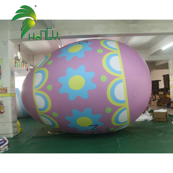 Easter decoration PVC colorful large giant inflatable easter eggs