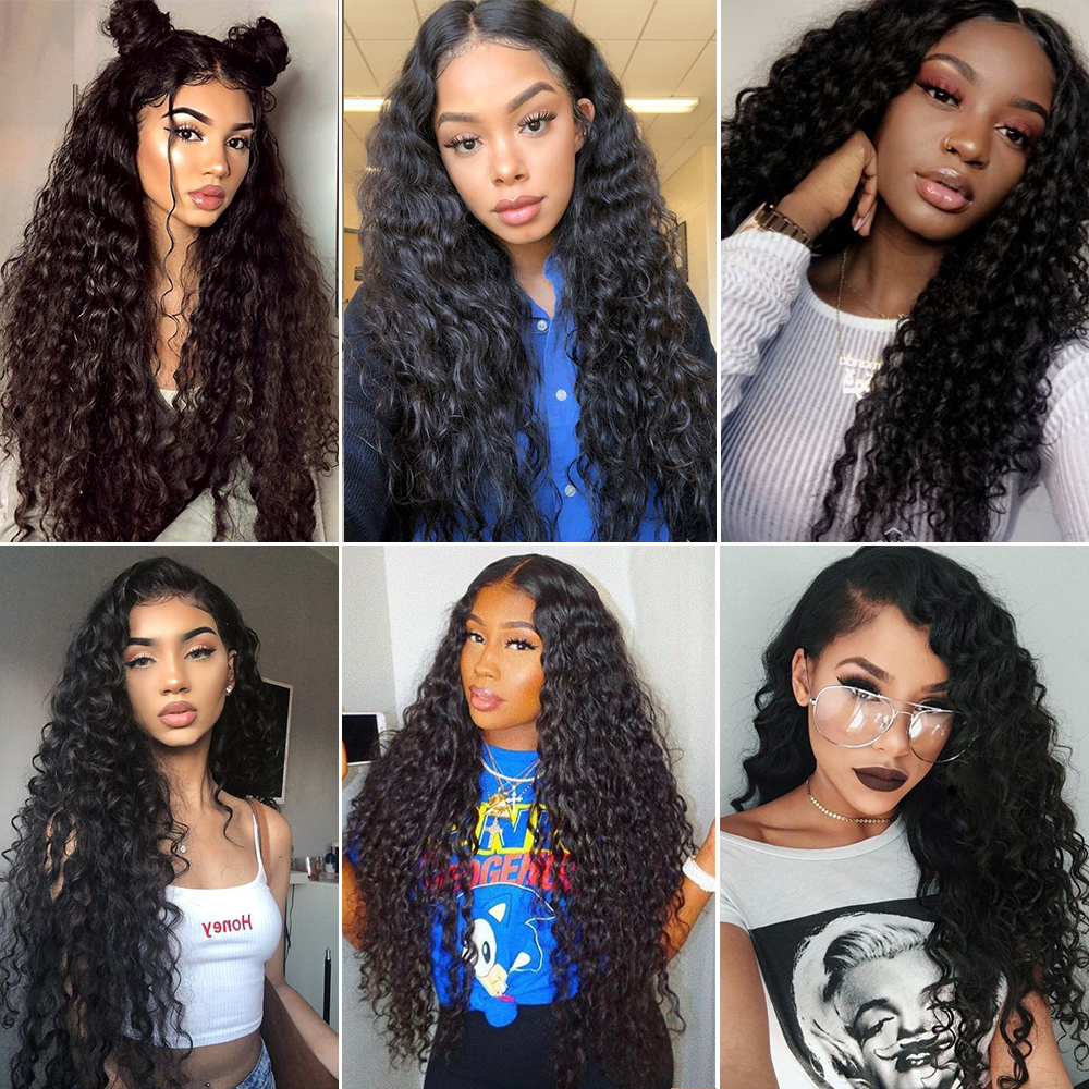 JcXBL drop shipping water wave raw virgin human hair wigs,13x6 brazilian lace front wigs with baby hair,high density wigs