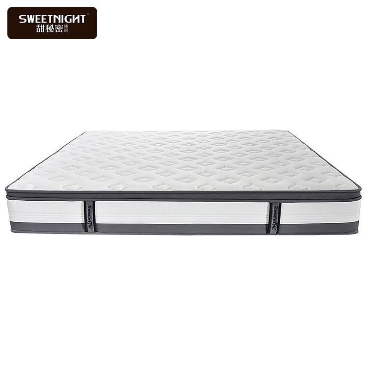 High quality knitted fabric single spring orthopaedic box mattress memory foam - Jozy Mattress | Jozy.net