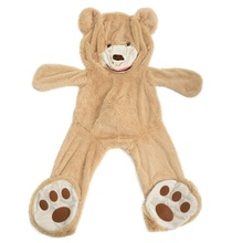 Yangzhou Dixin Giant Teddy Bear Skins Unstuffed Plush Animal Skins