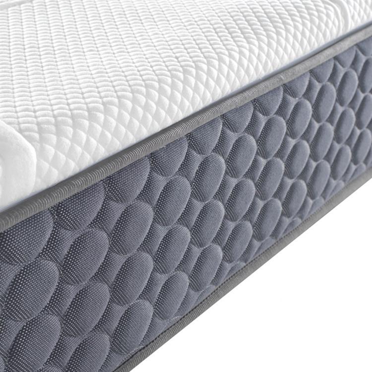 Foshan luxury 100% visible natural latex topper pocket spring sleeping sponge knock down mattress for bedroom ZH04 - Jozy Mattress   Jozy.net