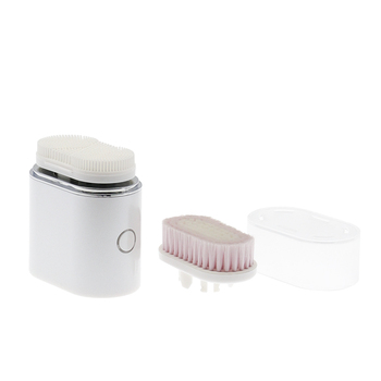 Private Label Waterproof Sonic Electric Face Cleansing Brush Rechargeable Silicone Facial Cleansing Brush