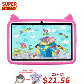 2019 Best Price 7 inch Allwinner A33 Kids Educational Tablet Pc For Child