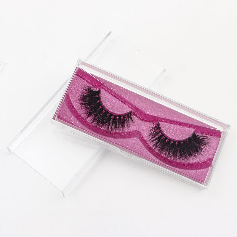 Private Label Custom <strong>Pill</strong> Bottle Eyelash Packaging Box 100% Real Mink Fur Lash
