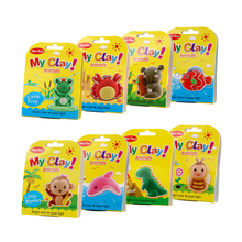 Mikatale CE certified non-toxic Air dry modeling clay super light magic DIY creative air dry clay