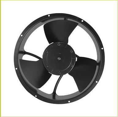 High temperature fan 254*89mm <strong>AC</strong> 230V~480V 57/89W 730~870CFM IP54 Cooling fan for electrical box