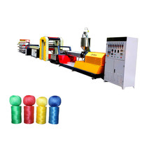High Speed Flat Yarn Extruder with winder PE Tarpaulin Flat Woven Fabric Sheet Production <strong>Line</strong> and Tarpaulin making machine