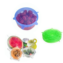 Hot Selling <strong>100</strong>% Food Grade Durable Tasteless Fresh Keeping Silicone Stretch Lids