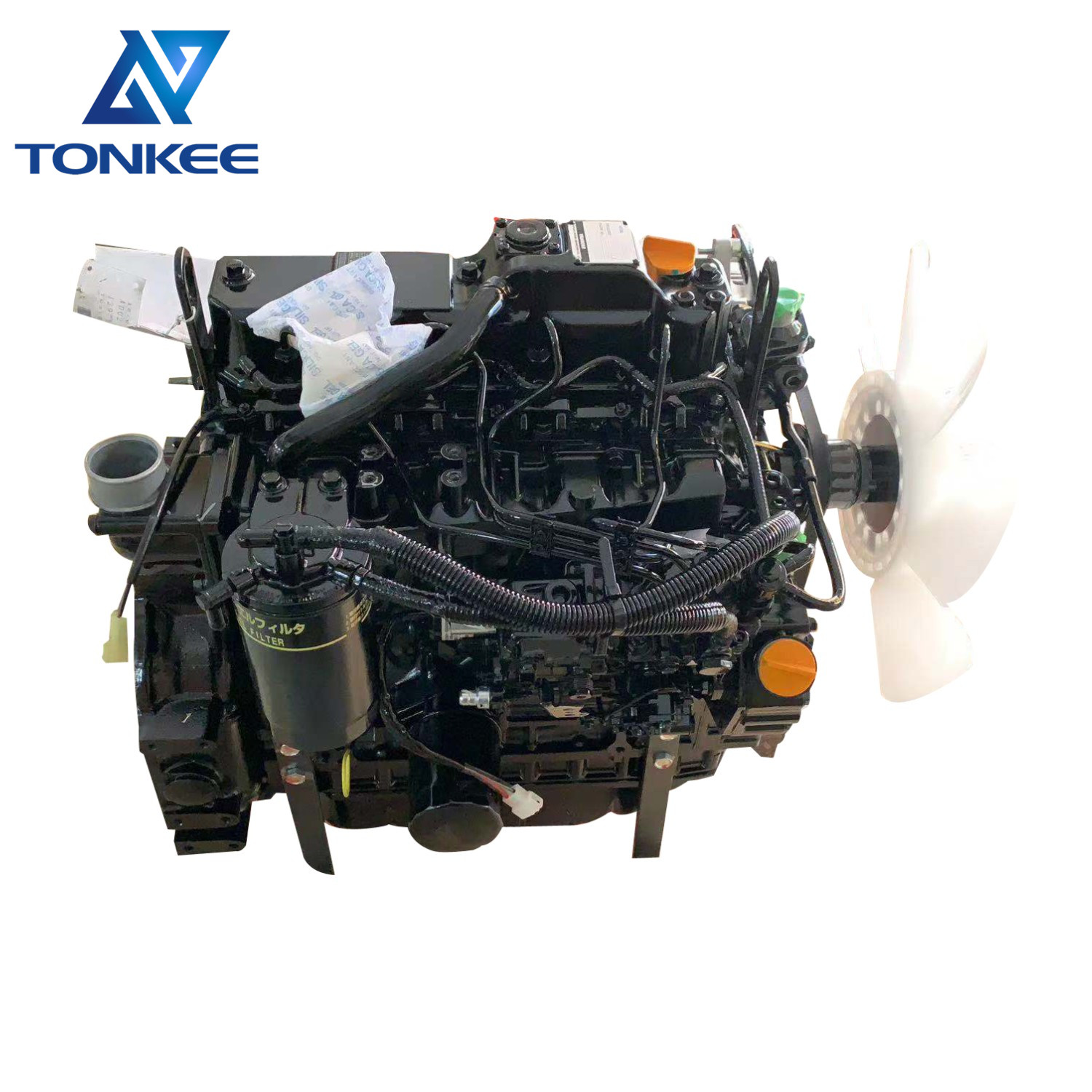 heavy machinery parts 4TNV88-BSBKCC 4TNV88-BPYBE complete diesel engine assy 4TNV88 diesel engine assembly without turbo