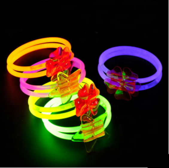 No Toxic Color Glow Stick Bracelets Bulk <strong>Christmas</strong>