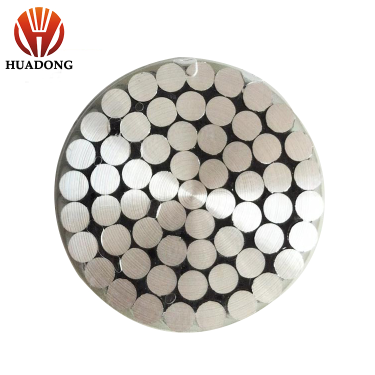 transmission line overhead conductor 250mm2 bare aac cable