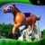 Advertising Inflatable Walking Horse, Inflatable Racing Helium Horse Balloon