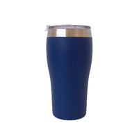 High Quality China wholesale double wall 304 stainless steel color design vacuum thermos flask travel wine tumbler bar beer cup