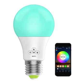 7.5W RGBW Bulb Work with Alexa and Google Home Assistant Smart LED Light Bulbs