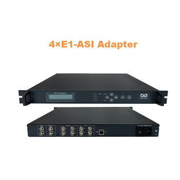 4 E1-ASI adapter(ASI+4 E1 IN and 4 E1+ASI out)