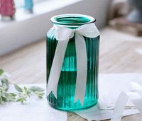 SGS certificated Various Sizes Glass Vase/ Candle Jar