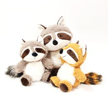 Plush toy high quality raccoon stuffed <strong>animal</strong> doll