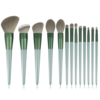 BUEART 2020 FREE Sample FREE BAG Black ANGLED brush brow cosmetic for eyeliner eyebrow nose brush for Promotion Sellls