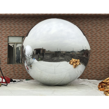Giant inflatable christmas ornaments mirror ball,inflatable floating mirror ball for decorative,pvc inflatable mirror ball