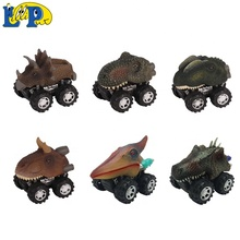 Amazon hot sale mini dinosaur pull back <strong>friction</strong> dinosaur car toy