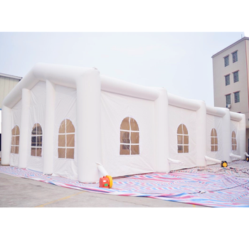 Outdoor inflatable party tent, inflatable wedding tent