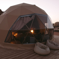 camping hiking outdoor Eco-Glamping kitchens dome igloo house tents