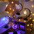 Led Decorative Christmas Crescent Moon Light Neon Night Table Lamp Desktop Neon Light For Party Decoration