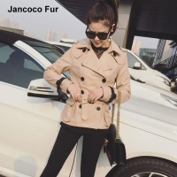 Spring Genuine Sheepskin Leather Jacket Women Fashion Coat Real Leather New Arrival Autumn Fashion Design S8002