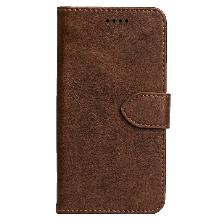 PU <strong>Leather</strong> Wallet Phone <strong>Case</strong> Card Slots Holder for Kyocera BASI03 KYV43 for Hisense HLTE217T (P30S) for Fujitsu Arrows RX