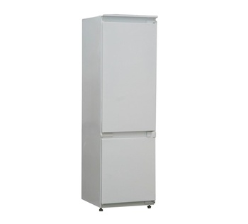 Intergrated White Color Home Appliance Built In Bottom Freezer Fridge
