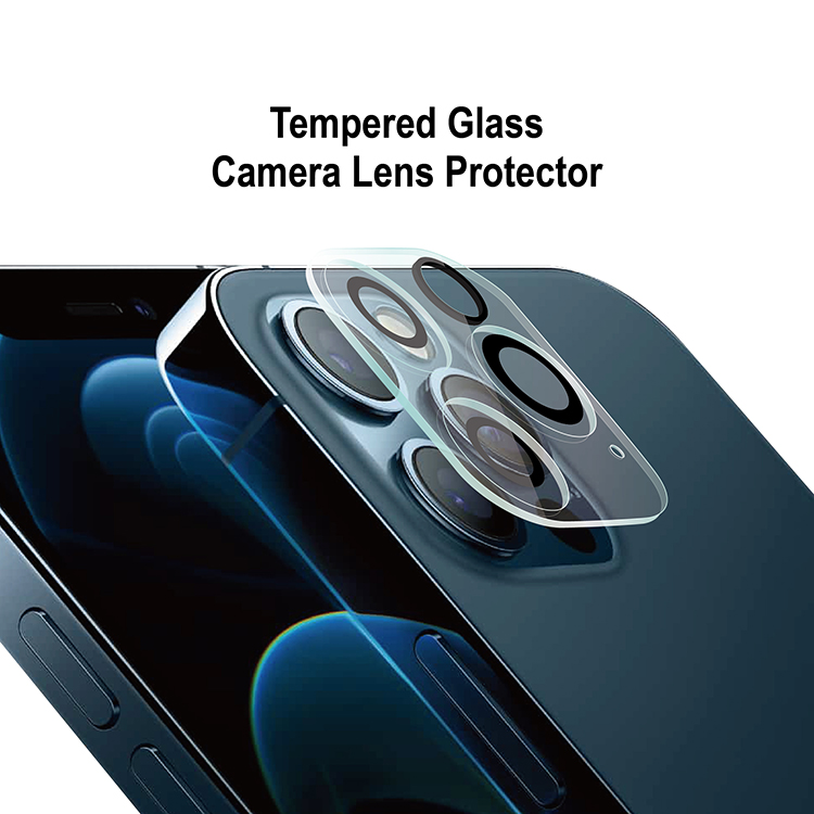 New! HD Clear Camera Lens Tempered Glass  Protector for iPhone 12 Pro max