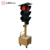 Ledbow Highway waterproof  Solar wireless mobile traffic light poles