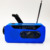 Multifunctional Hand radio Solar Crank Dynamo Powered AM/FM/NOAA Weather Radio Use Emergency LED Flashlight and Power Bank
