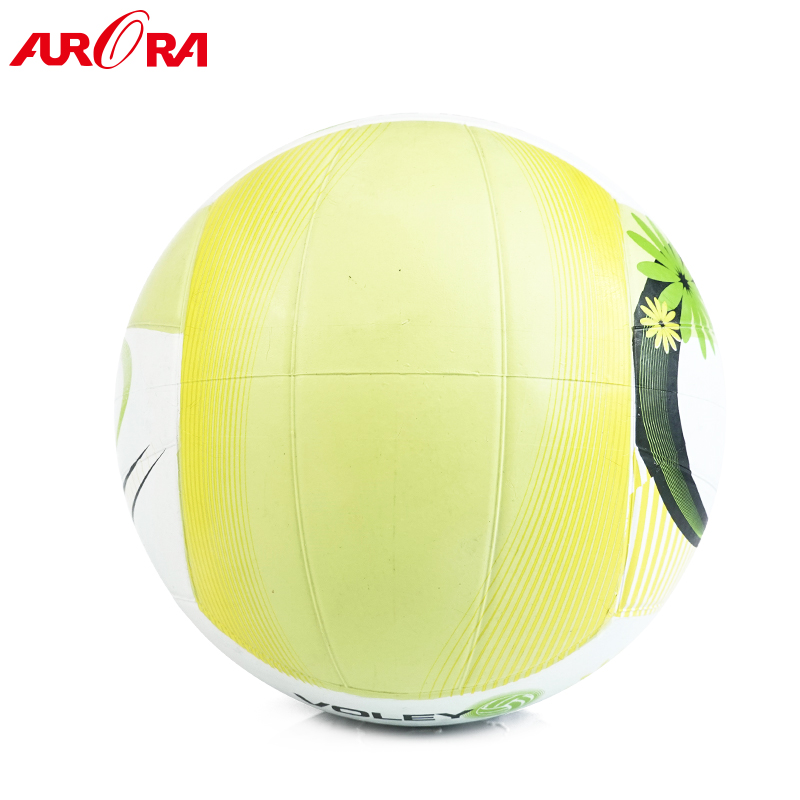 high quality custom color 18 panels size 5 rubber volleyball balls