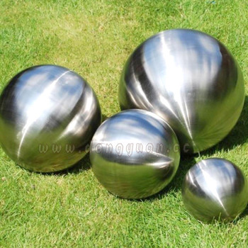200mm Decorative Inox Steel Matt Ball