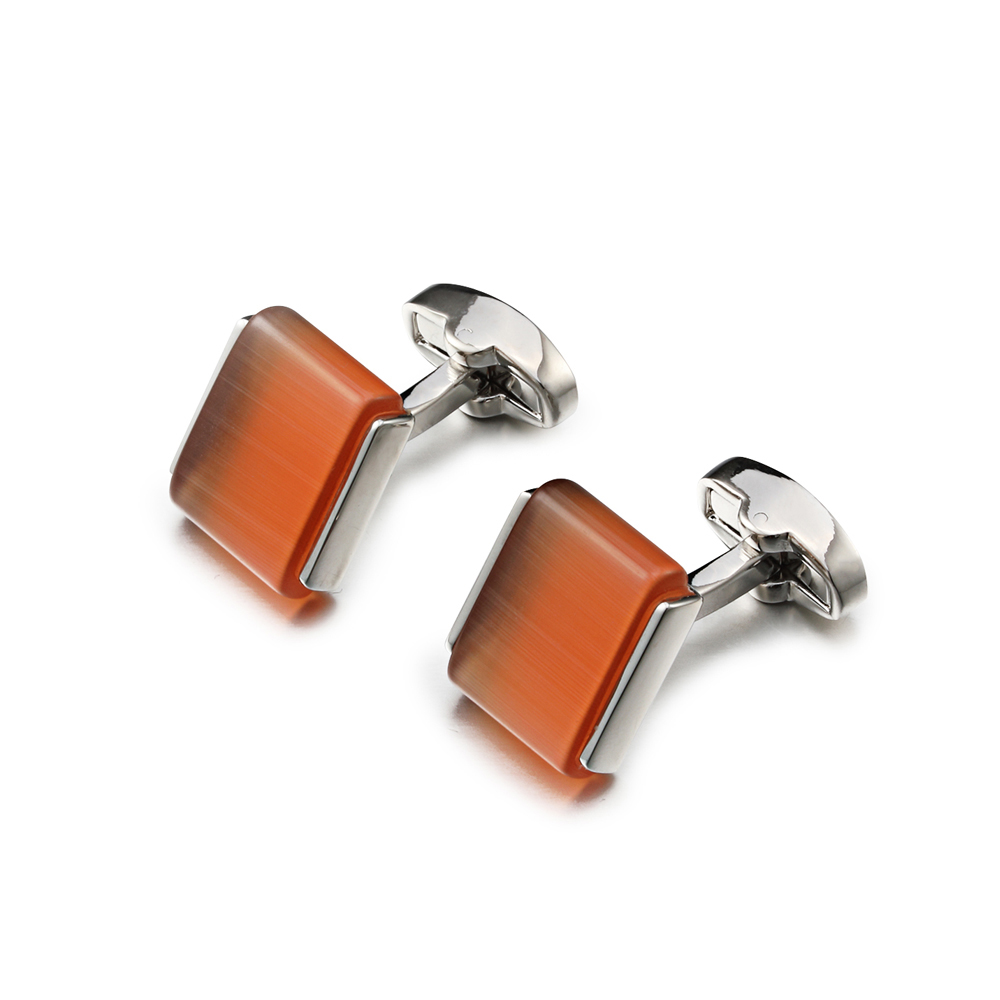 OB Jewelry-Popular Ethnic Style Men's Jewelry Bohemia Style Cuff Links Funny Silver Color Painting Cuff links Cufflink For Men