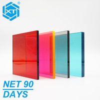 XINTAO Net 90 Days Colored Translucent Cast Acrylic/PMMA/Perspex/Plexiglass Acrylic Sheet