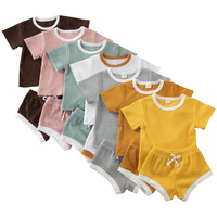 baby apparel Baby Boy Girl Clothes Sets 2020 Summer Tops + Short Children Clothing Wholesale